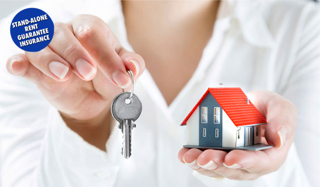 Image shows woman holding keys - protect your rental investment with our landlord insurance.